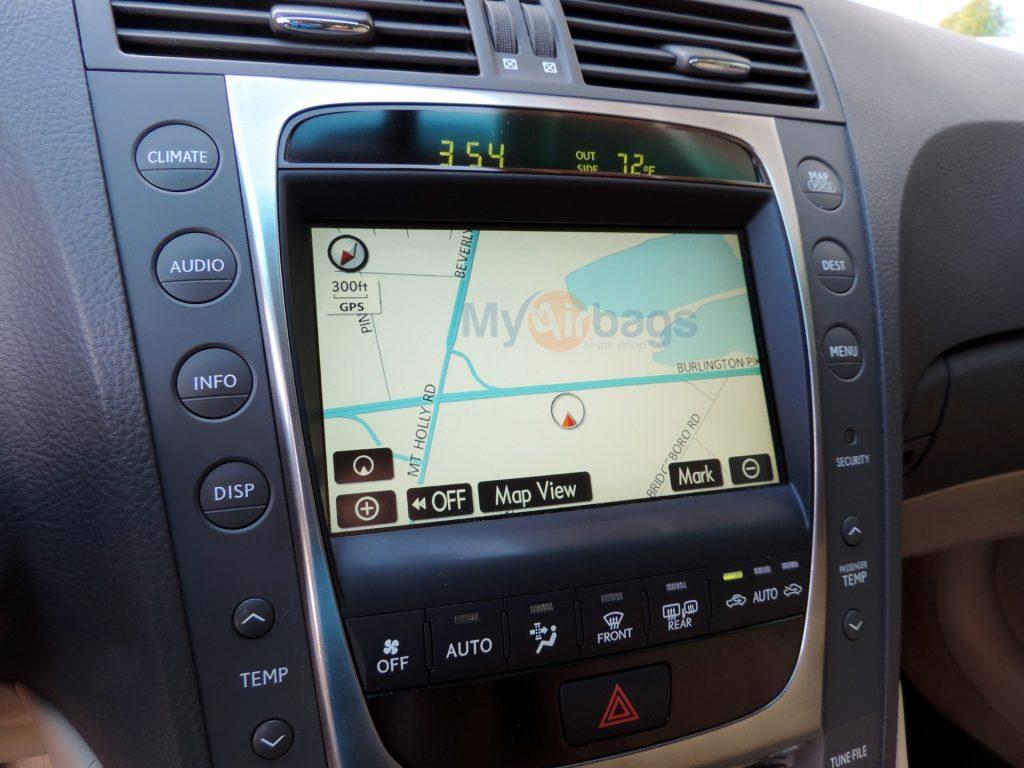 Lexus Rx400h 2006 2009 Navigation Radio Touch Screen