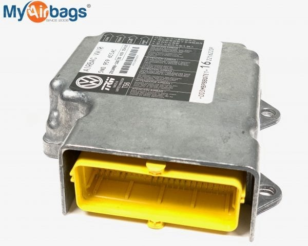 VOLKSWAGEN SRS Airbag Control Module Sensor Part #5N0959655AC