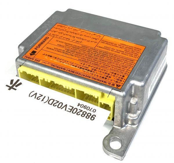 NISSAN SRS Airbag Control Module Sensor Part #98820EV02D